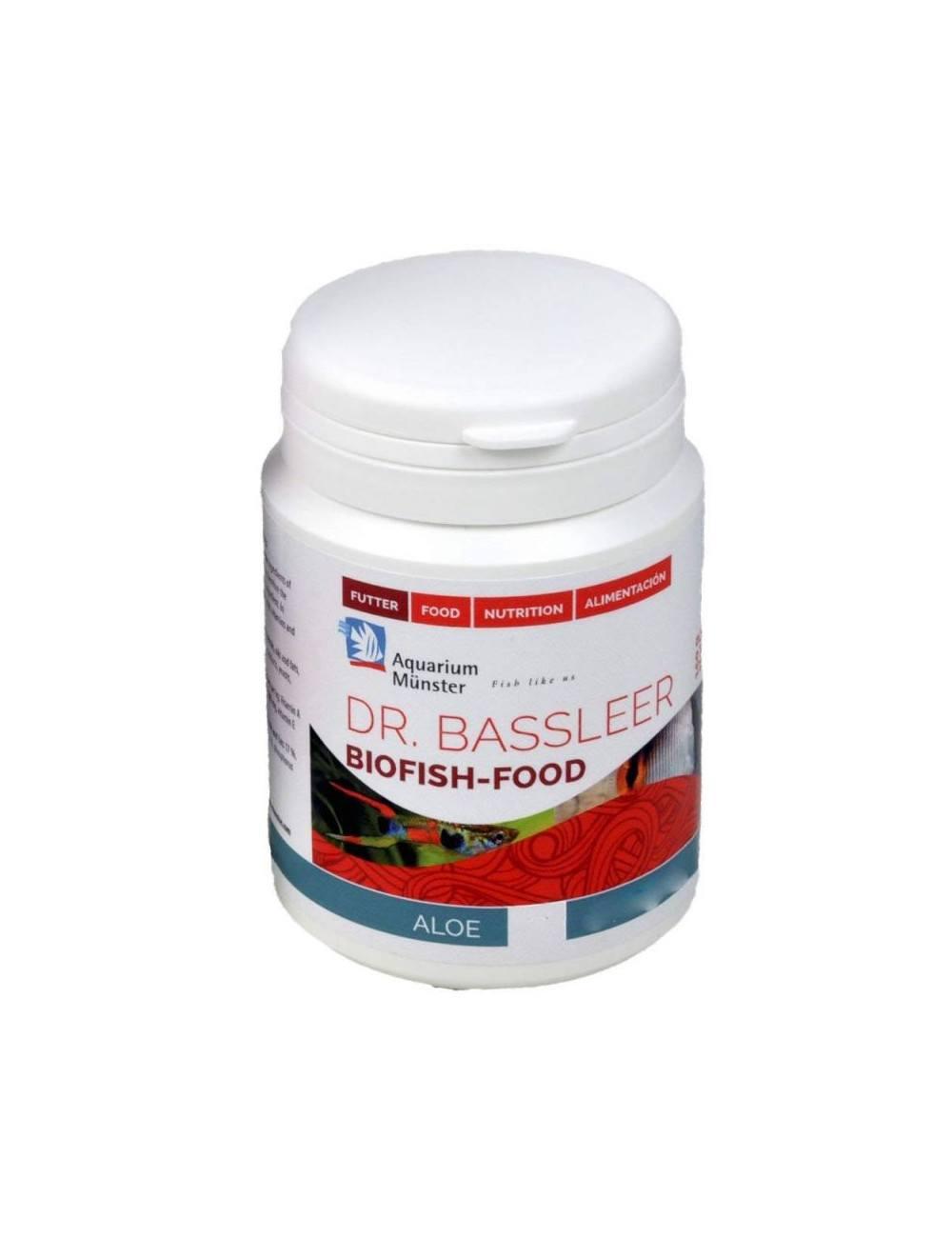 Dr. Bassleer - BIOFISH FOOD - Aloe L - 60gr - Nourriture pour poissons de 7 à 9 cm