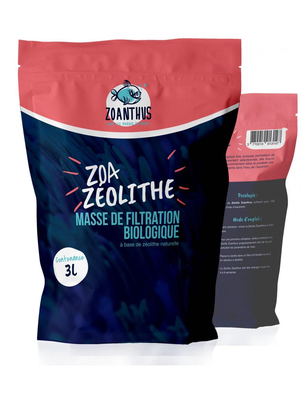 - ZOANTHUS.fr - zéolite 10 - 40 mm - 3000ml