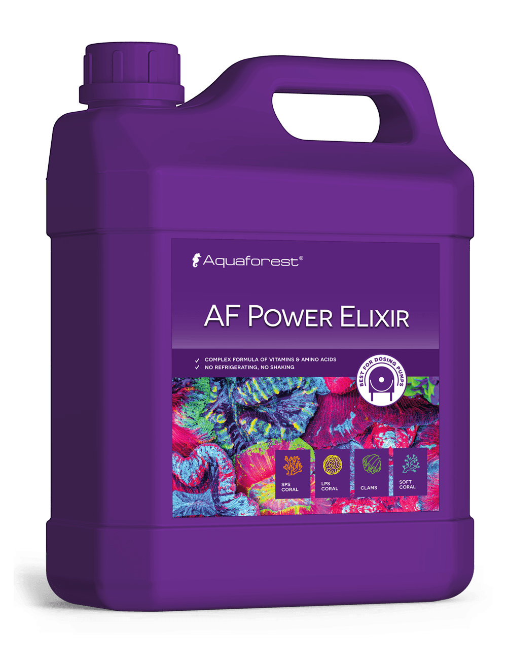 AQUAFOREST - AF Power Elixir - 2000 ml - Complément nutritif pour coraux
